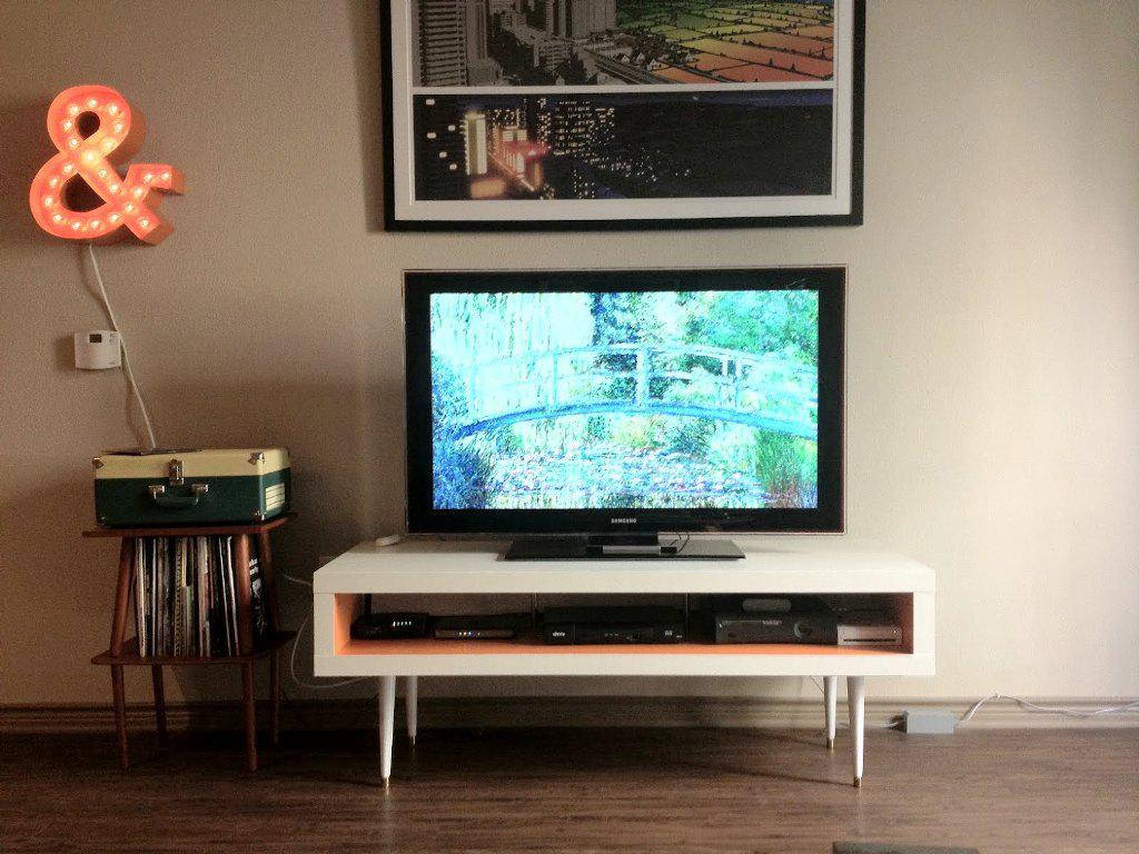 Image of: IKEA Hack TV Cabinet