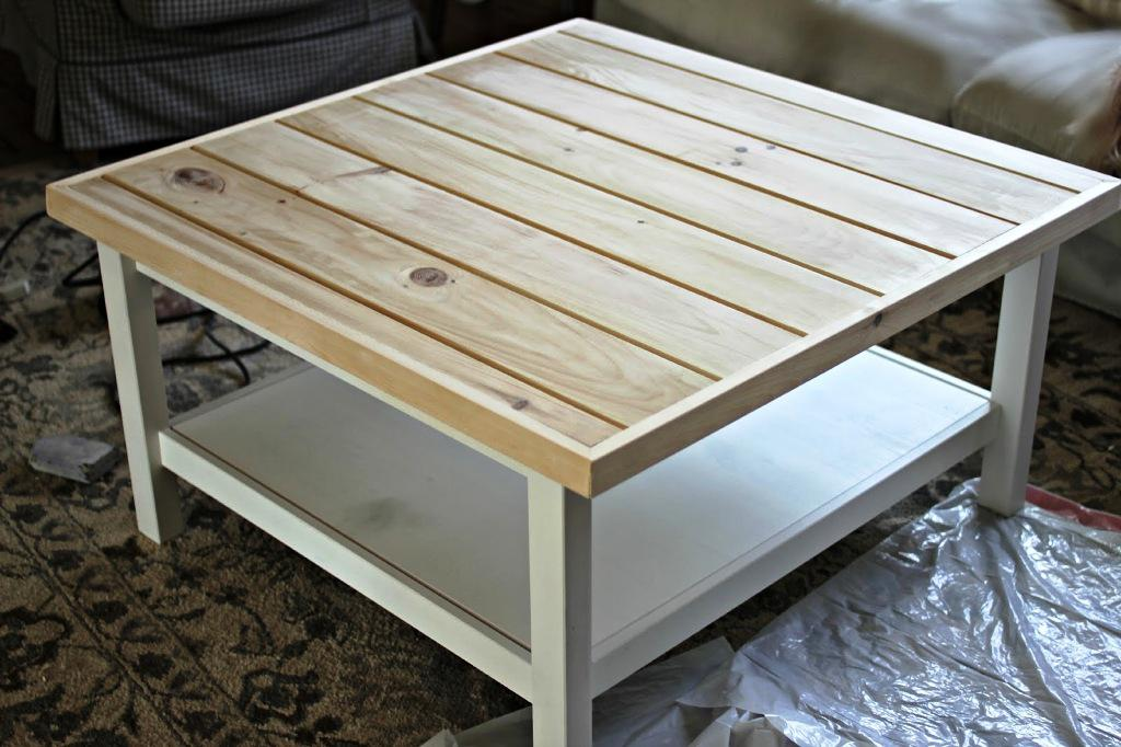 Image of: IKEA Hemnes Coffee Table