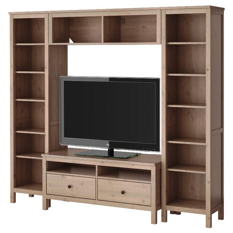 Image of: IKEA Hemnes TV Cabinet