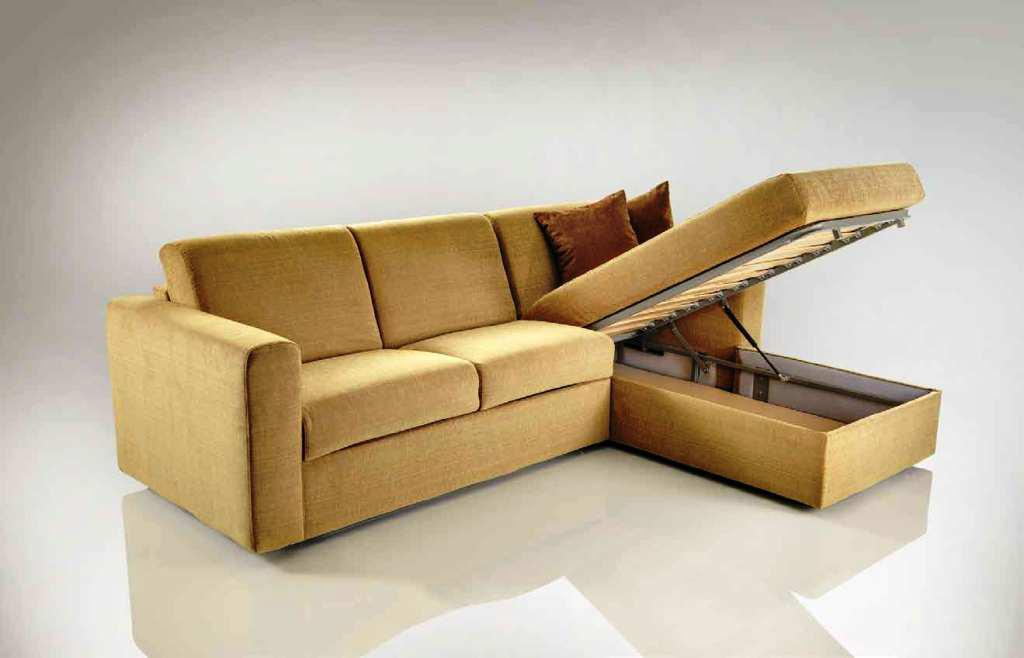 IKEA Pull Out Couch With Storage