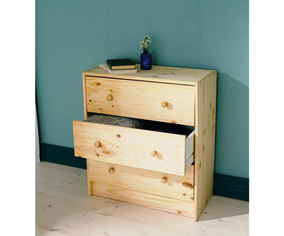 IKEA Rast 3 Drawer Chest