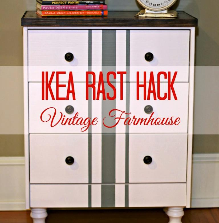 IKEA Rast Bedside Table