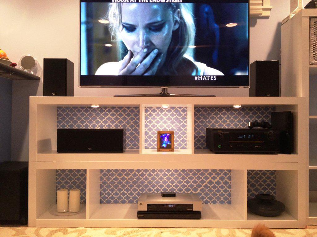 Image of: IKEA TV Cabinet Expedit