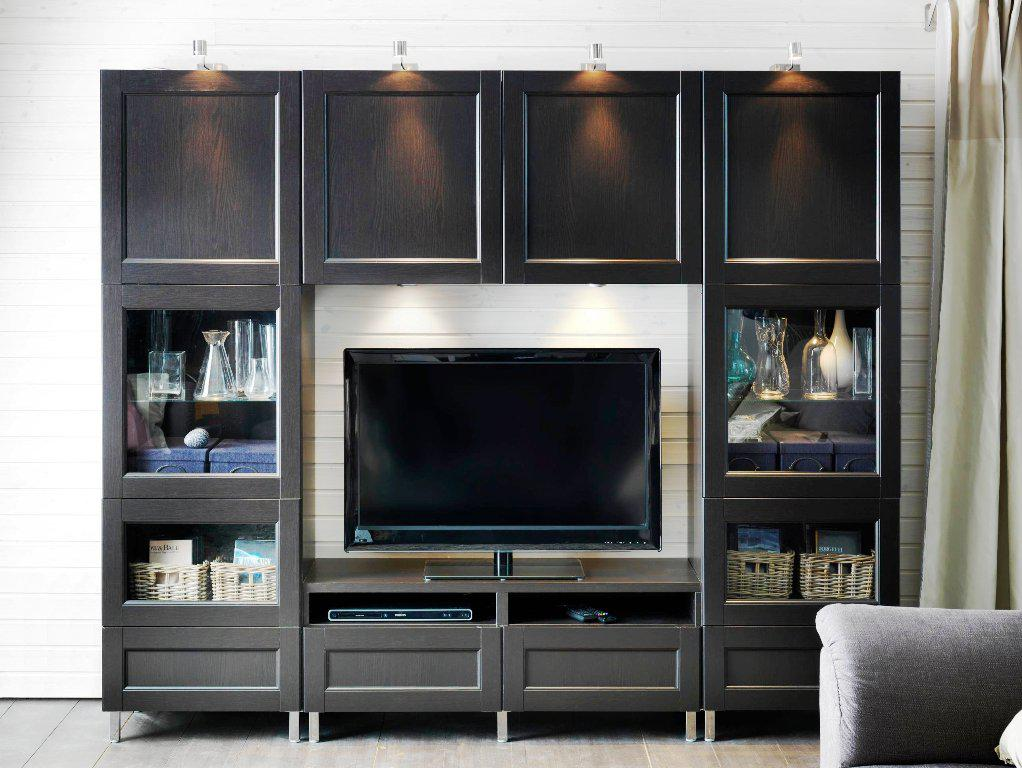 Image of: IKEA TV Stands And Cabinets