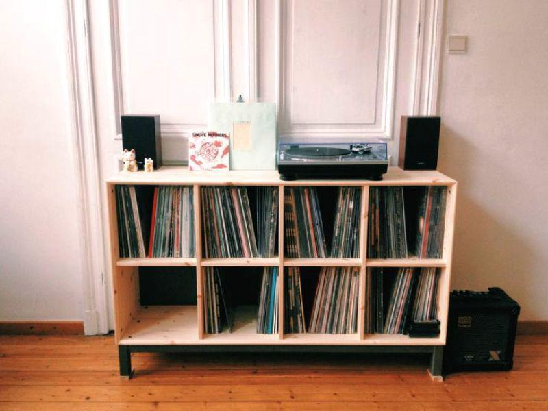 IKEA Vinyl Record Storage Design Ideas