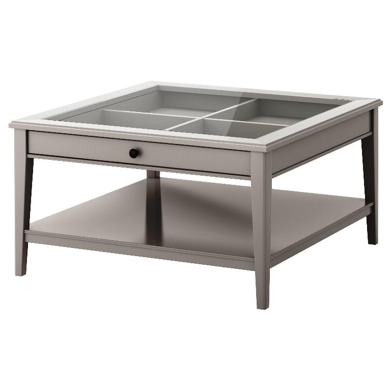 Image of: IKEA White Coffee Table
