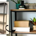 Metal Bookshelf IKEA Ideas Hack
