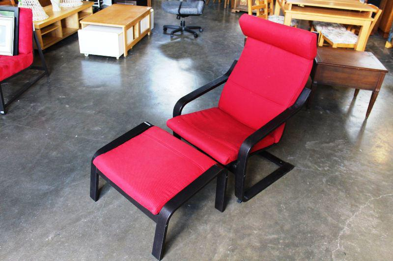 Modern Chair And Ottoman IKEA