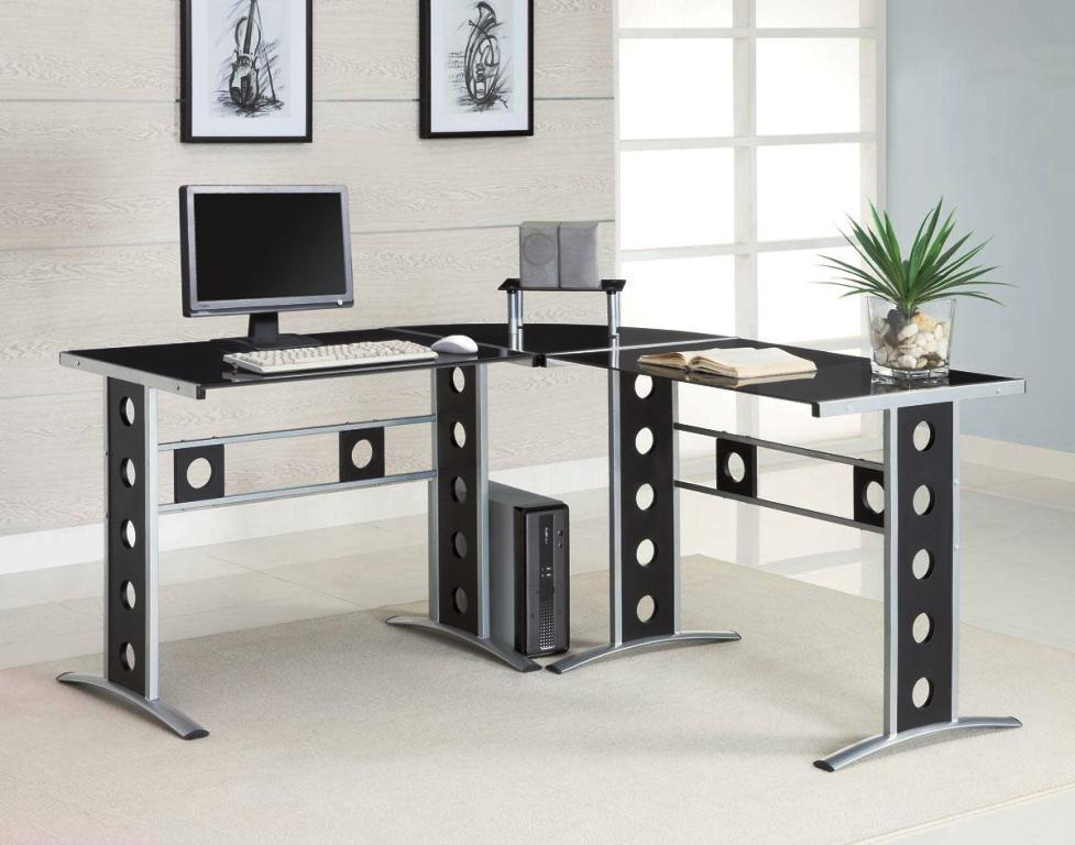 Modern L Shaped Computer Desk IKEA