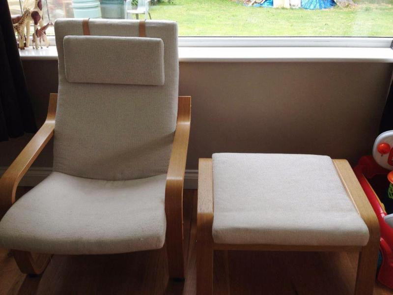 Nursery Furniture Chair And Ottoman IKEA