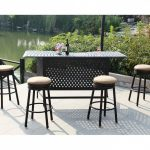 Outdoor Bar Stools Set Of 4