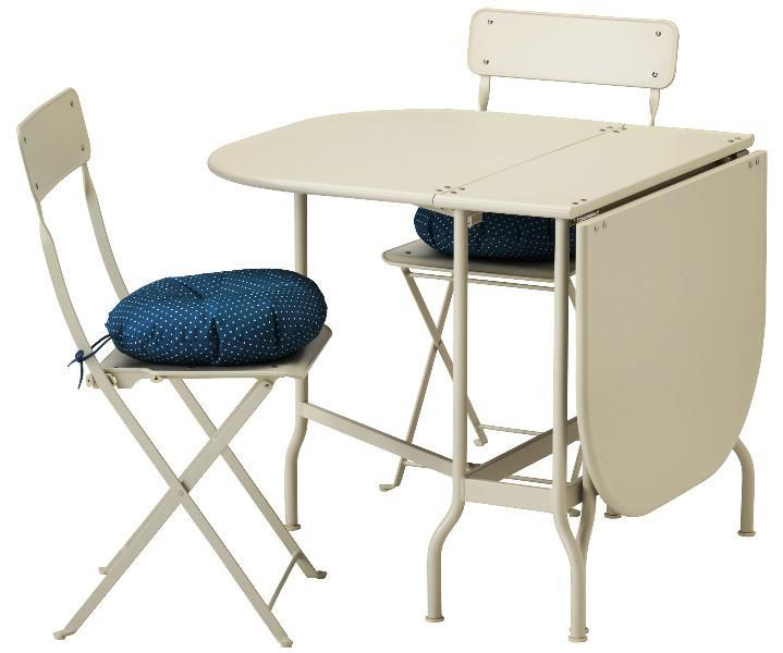 Padded IKEA Folding Chairs