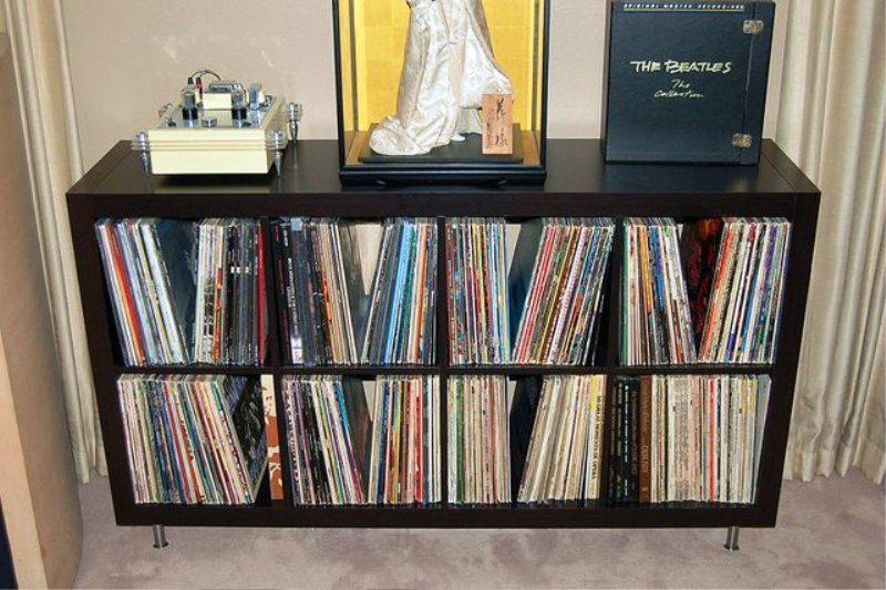 Best IKEA Vinyl Record Storage Ideas