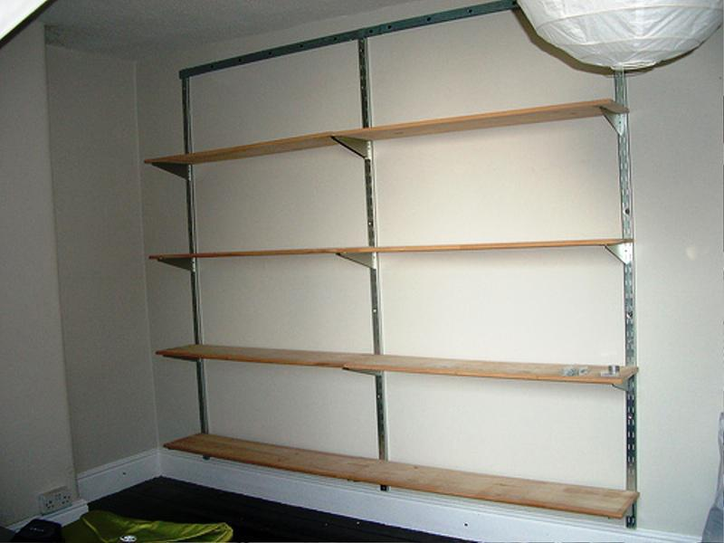 Wall Mounted Metal Bookshelf IKEA