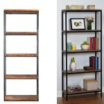 Wood And Metal Metal Bookshelf IKEA
