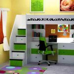 Best Kids Bunk Beds With Desk IKEA