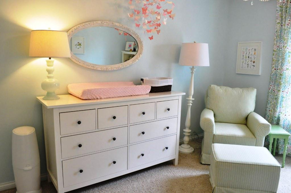 Contemporary IKEA Hemnes White Dresser