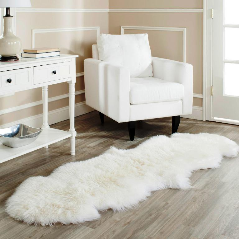 Image of: Fur Carpet IKEA