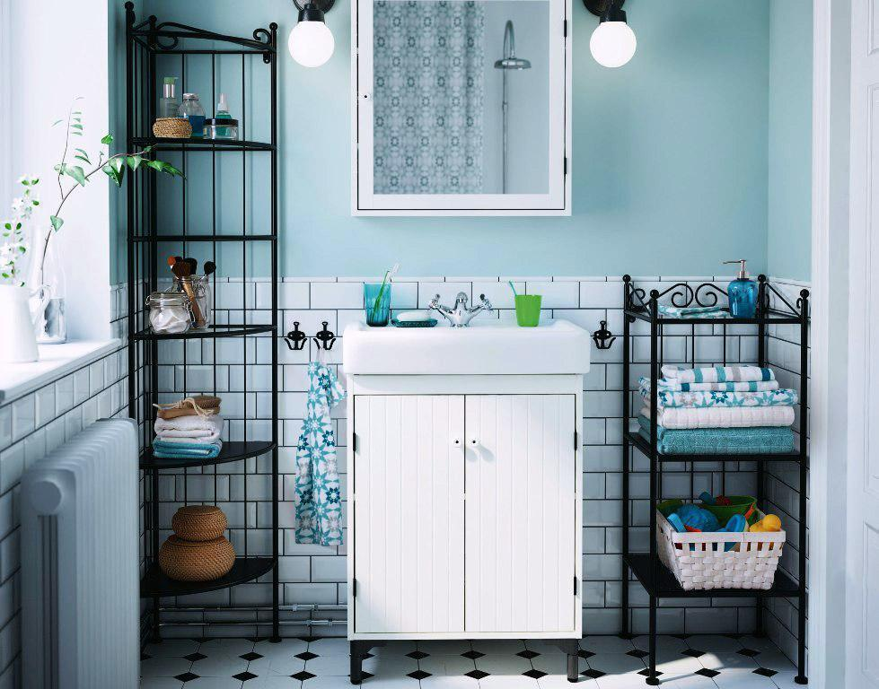 IKEA Bathroom Cabinets Storage And Decor Ideas