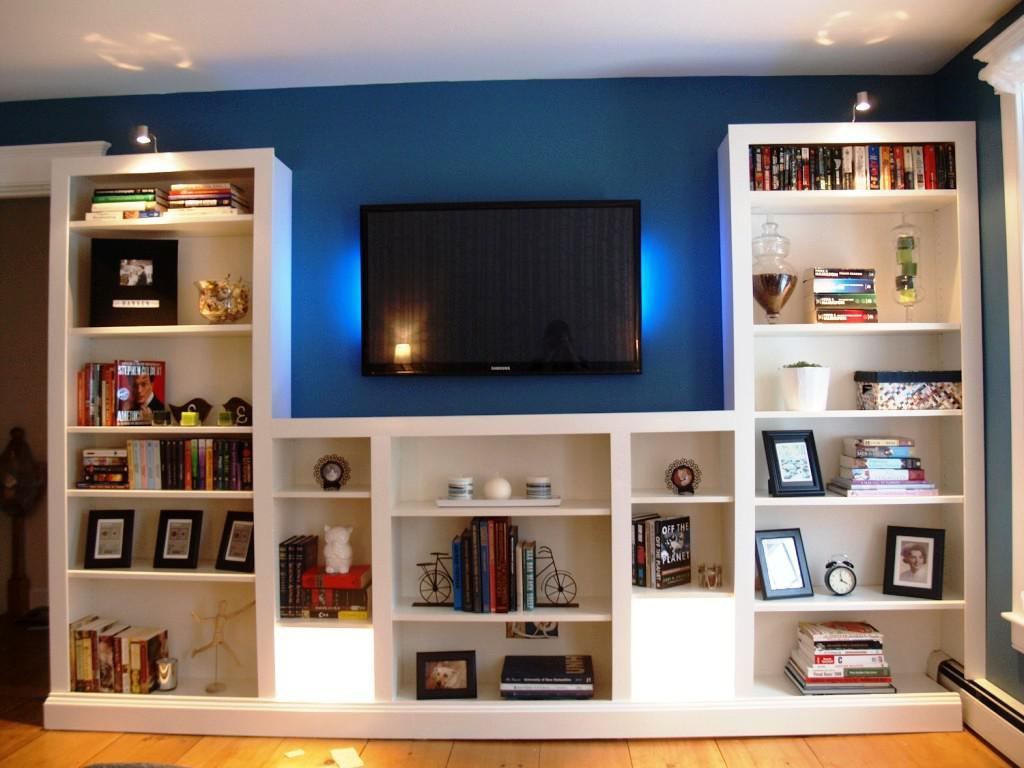 Image of: IKEA Billy Entertainment Center