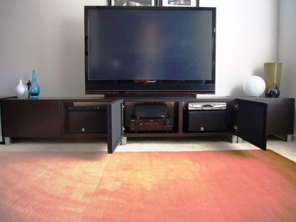 IKEA Black Entertainment Center