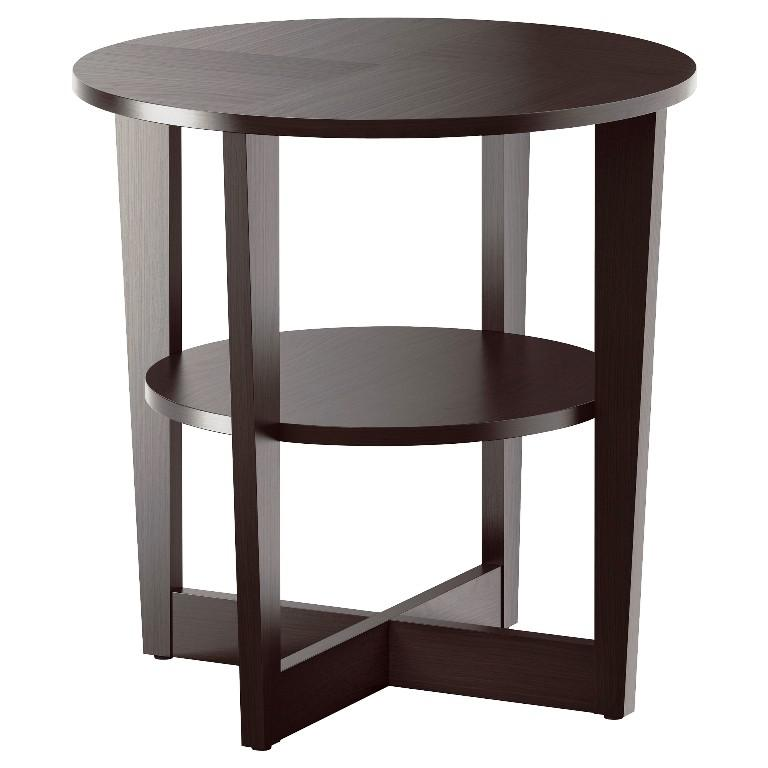 IKEA End Table Black