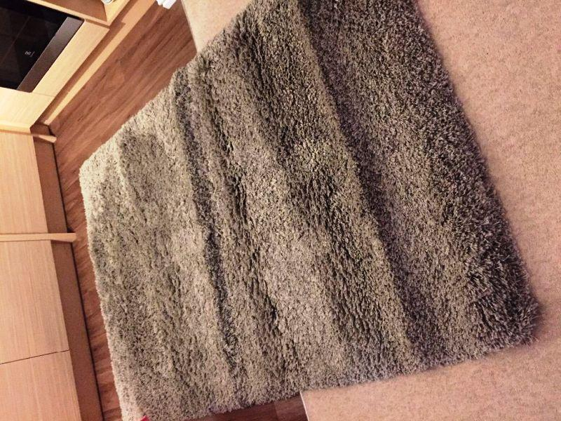 Image of: IKEA Gaser Rug Grey