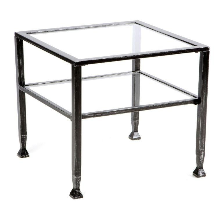 IKEA Glass End Table