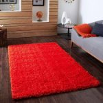 IKEA Hampen Rug Red
