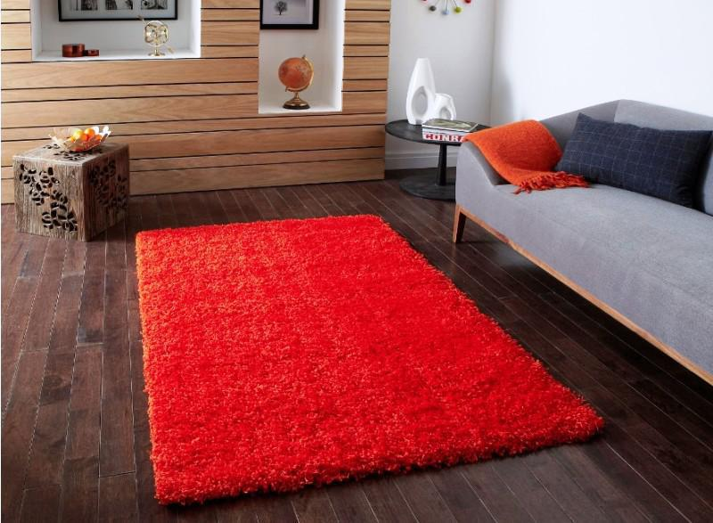 Image of: IKEA Hampen Rug Red