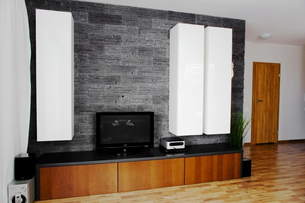Image of: IKEA Home Entertainment Center
