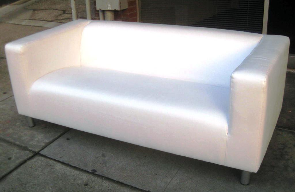 IKEA Klippan Leather Sofa