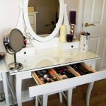 IKEA Malm Vanity Makeup Table