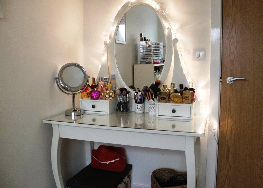 IKEA Malm Vanity Table