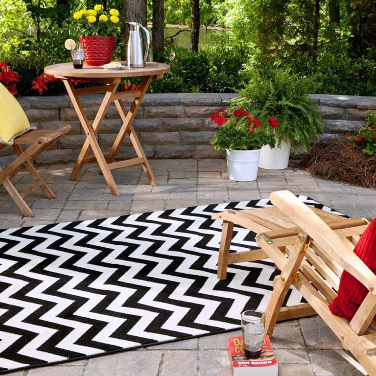 Image of: IKEA Outdoor Carpet