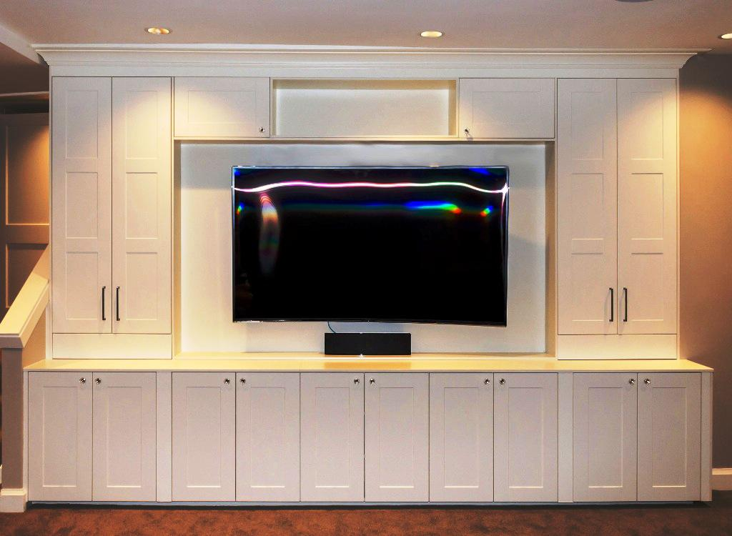 Image of: IKEA Wall Entertainment Center
