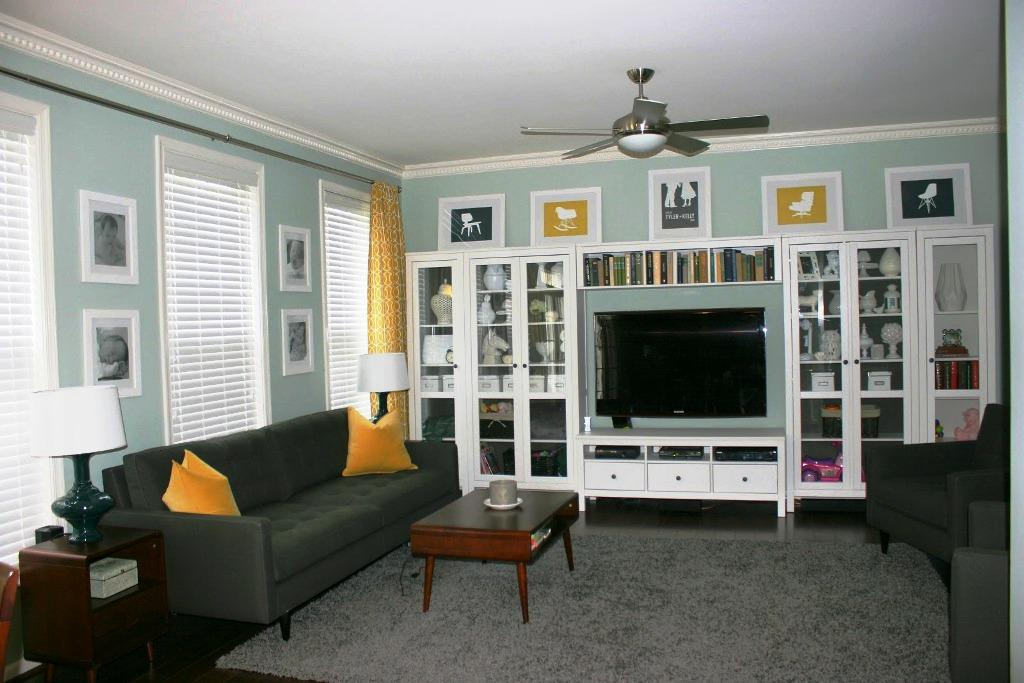 Image of: IKEA Wall Units And Entertainment Centers