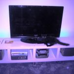 IKEA White Entertainment Center