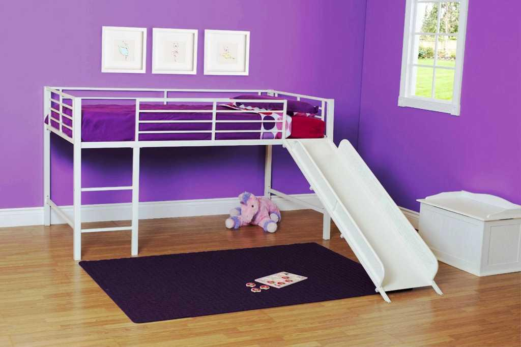 Kids Bed With Slide IKEA