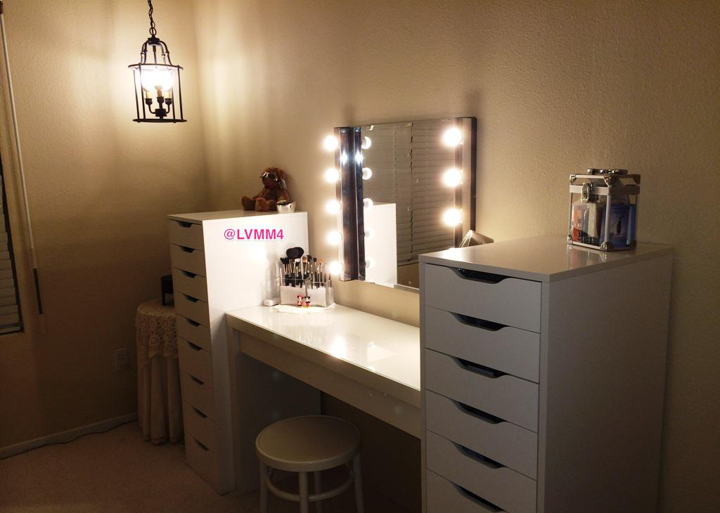 Makeup Vanity Table IKEA