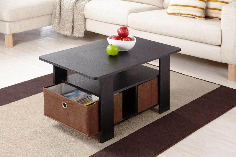 Modern End Tables With Storage