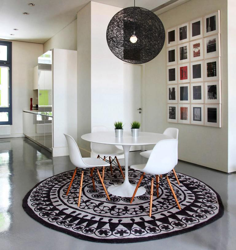 Image of: Round Carpets IKEA
