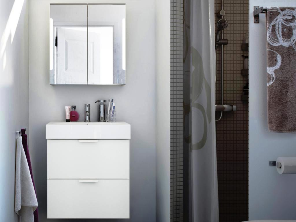 Space Saver IKEA Bathroom Cabinets And Vanities Sets
