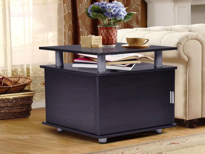 Storage End Table With Doors