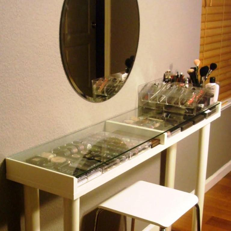 Image of: Vanity Tables IKEA