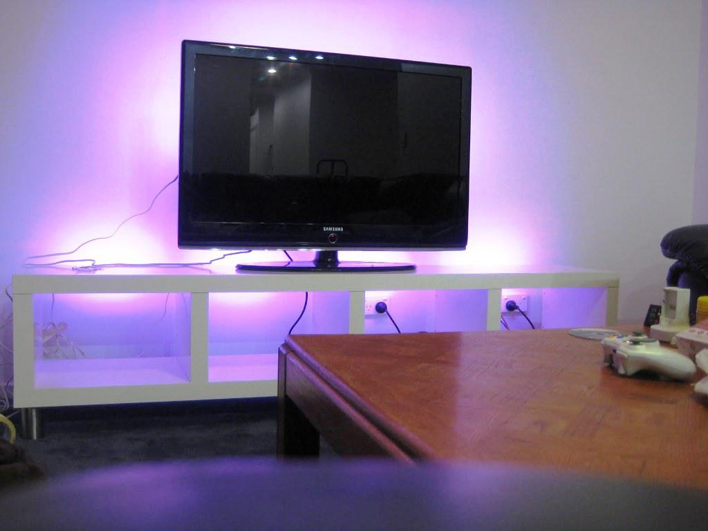 White Entertainment Center IKEA