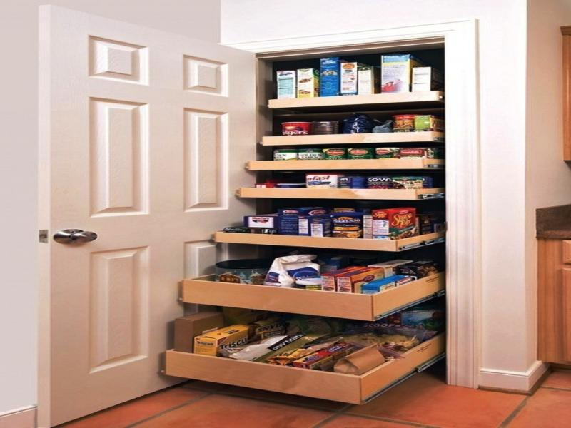 Build Your Own Pantry Shelves