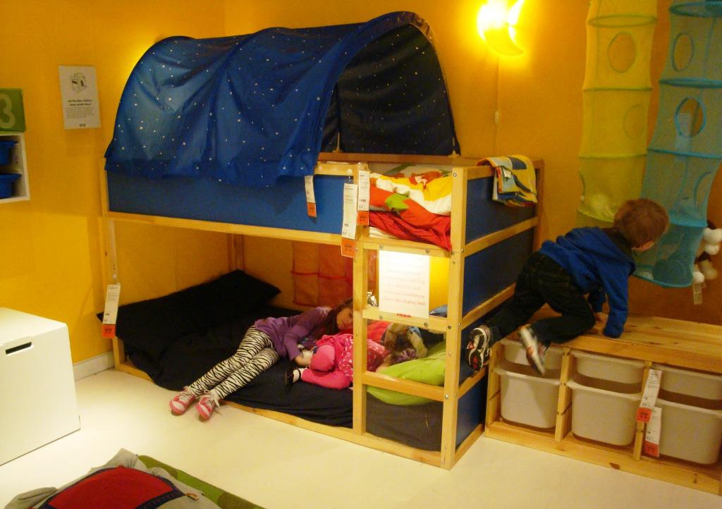 Image of: Childrens Cabin Beds IKEA