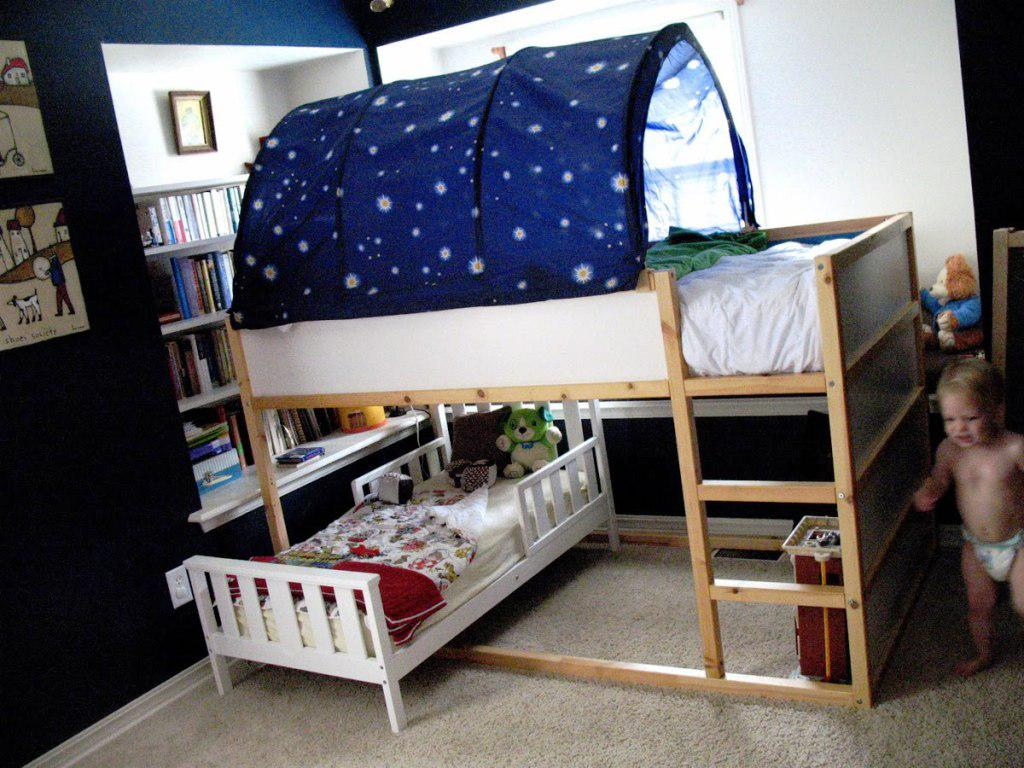 Image of: Childrens Loft Beds IKEA