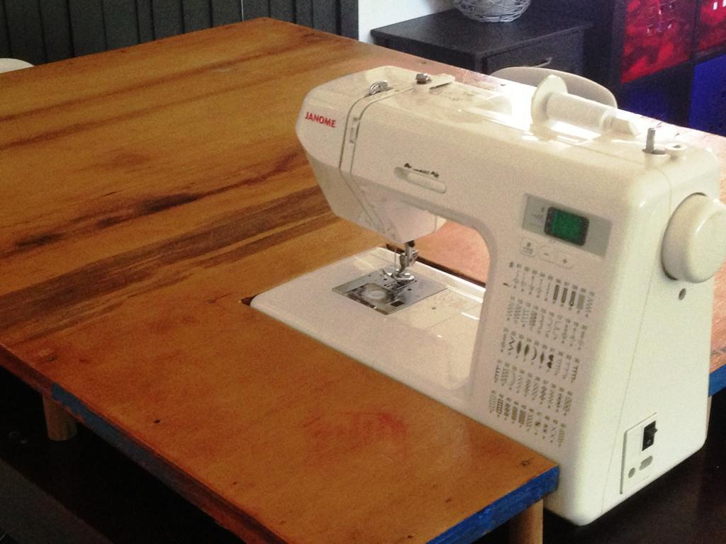 DIY IKEA Sewing Table
